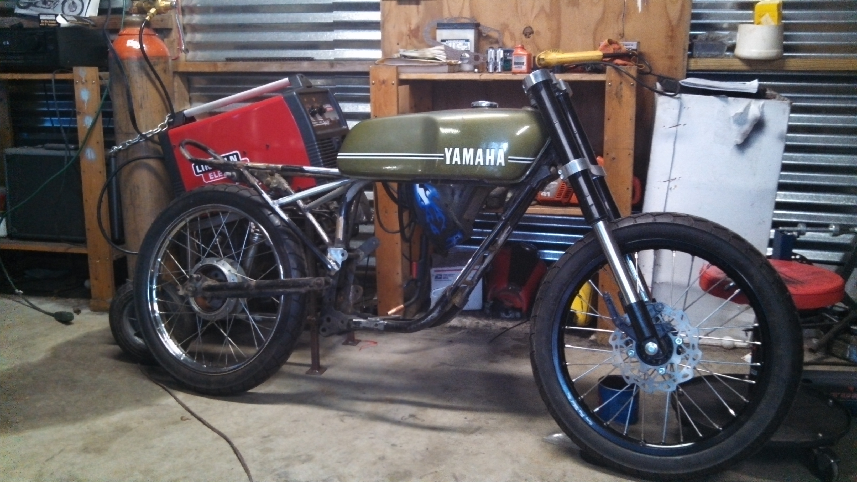 Rolling right along. | ONE-UP Moto Garage