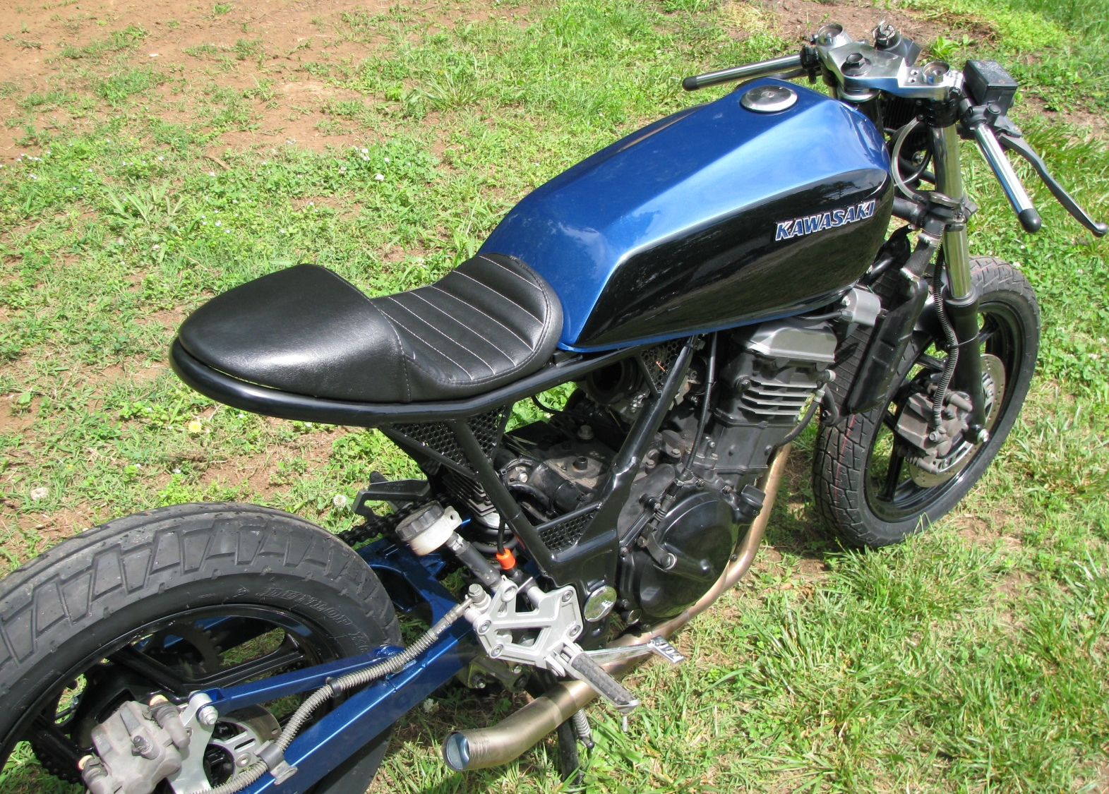 250 Ninja Cafe Racer One Up Moto Garage